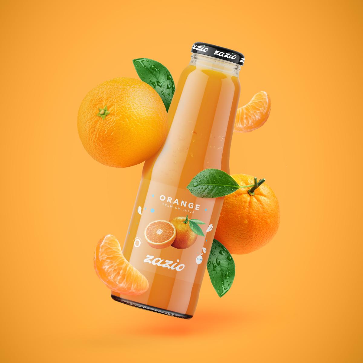 Zazio Juice – Packaging